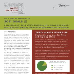 Jackson Family Wines Responsibility Report - Water Diversion