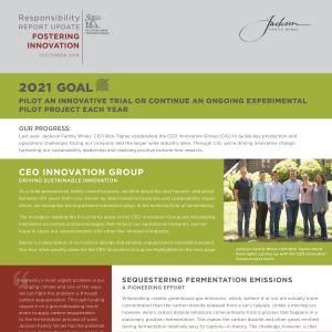 September 2018 Sustainability report