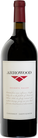 Arrowood Knights Valley Cabernet Sauvignon bottle