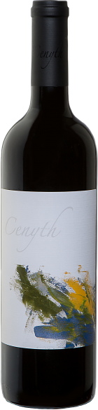 Cenyth red wine bottle shot