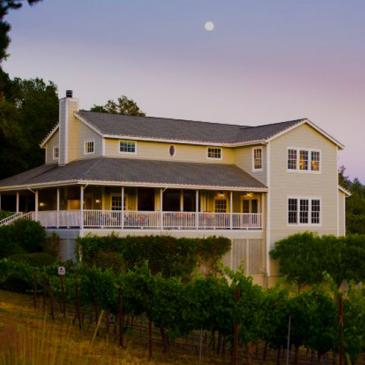 Arrowood winery and tasting room in Sonoma Valley, California