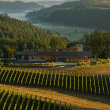 Penner-Ash winery and tasting room, Willamette Valley, Oregon